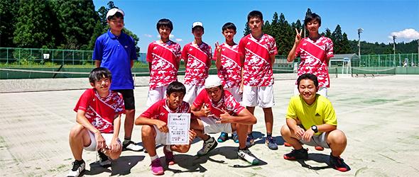 学校案内 - クラブ活動 - テニス部 | 新潟第一中学校・新潟第一 ...